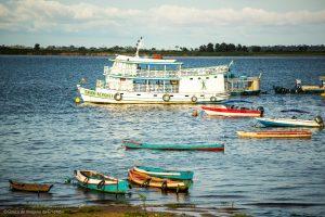 Brazil, Amazon - cruise ship