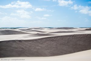 Lencois Maranhenses, Brésil, les dunes