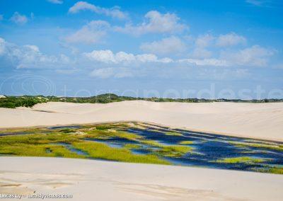 Atins, lagune lencois maranhenses