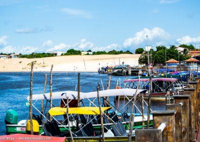 Barreirinhas, le port, les dunes, les bateaux