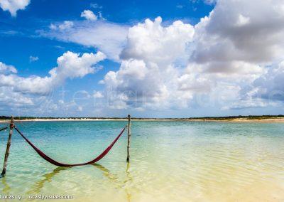 Brésil, Jericoacoara, la lagune bleue