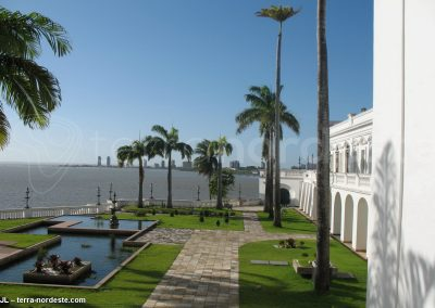 Brésil nordeste, Sao Luis, vue océan depuis le centre historique