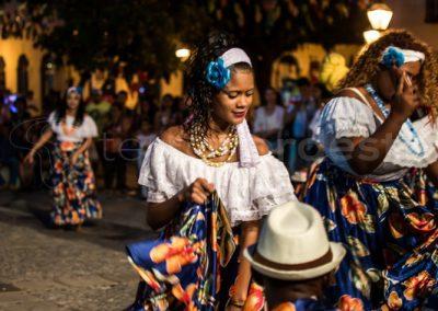 Sao Luis, danseuse tambor de crioula