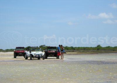 Jericoacoara, traversée des lagunes en buggy