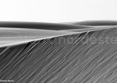 Les dunes très graphiques des Lencois au Brésil