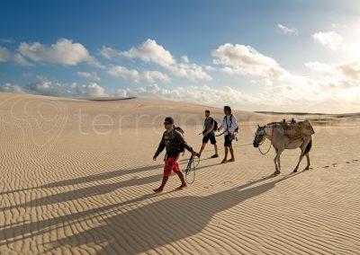Lencois Maranhenses, trekking dans les dunes