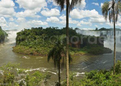 Bresil, iguazu falls, chutes ile
