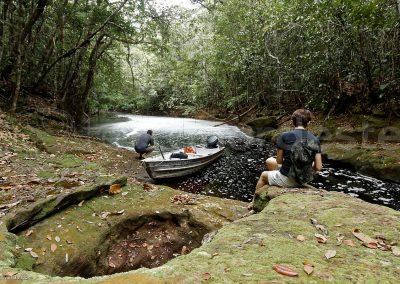 Igarape, Brésil - excursion bateau amazonie