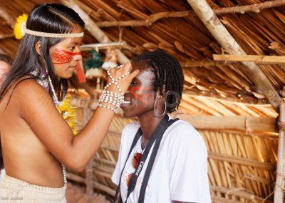 Brésil, communauté indienne amazonie