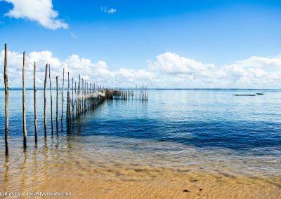 Bresil, Bahia Barra grande - Piège à poissons