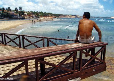 Brésil, Praia da Pipa plage
