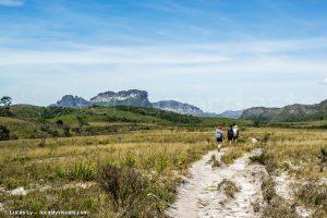 Bresil - Chapada Diamantina - randonneurs trek