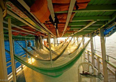 Brésil, bateau croisière amazonienne