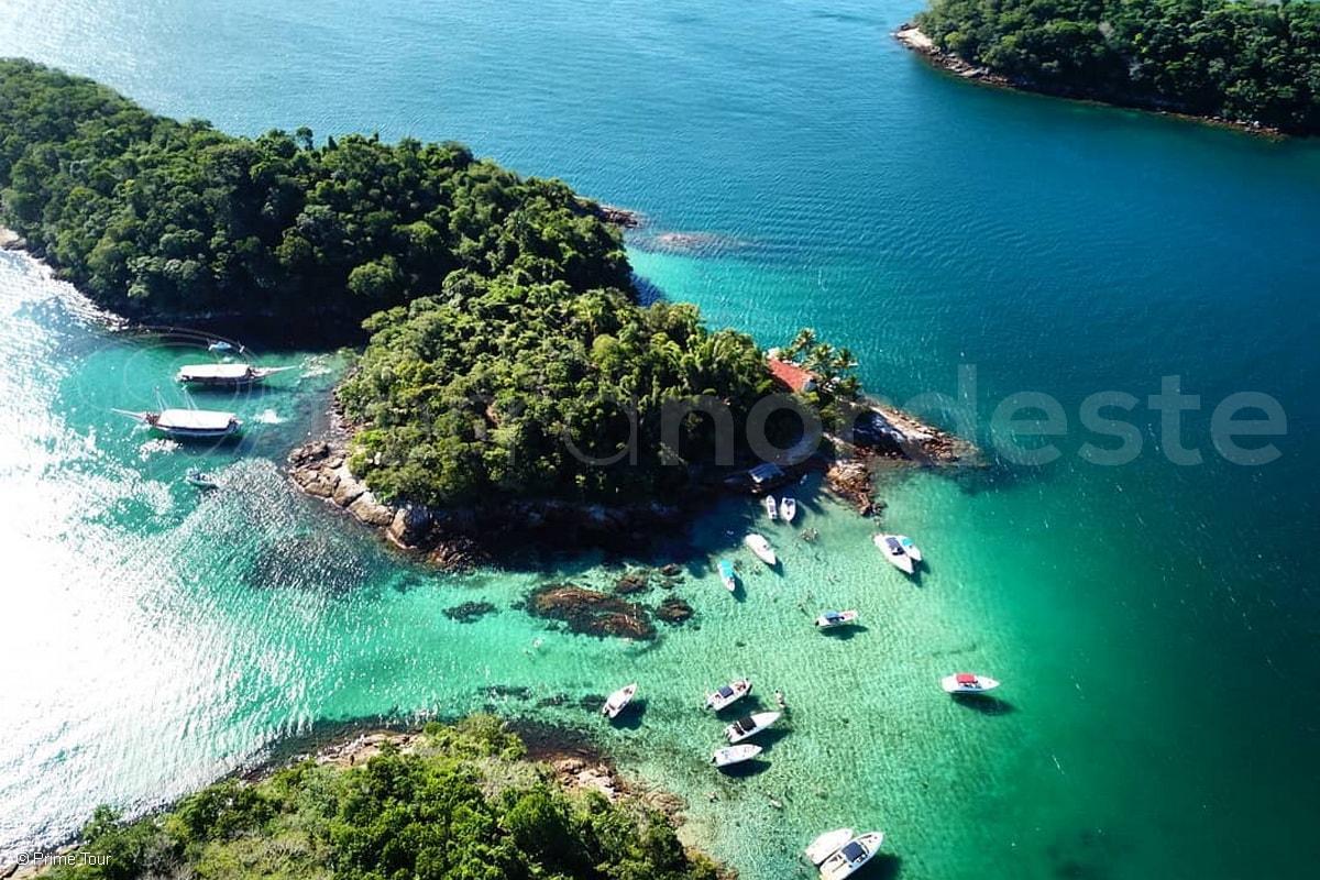 Costa Verde, Brésil, cabotage crique eau cristalline