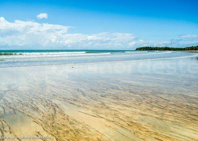 Brésil Ilha Boipeba - plage deserte et sauvage