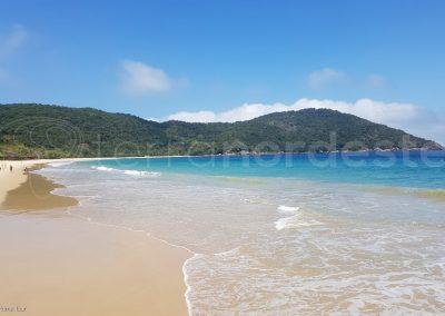 Plage de sable Ilha Grande, Costa Verde, Brésil