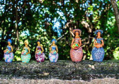 Brésil, Olinda - figurines