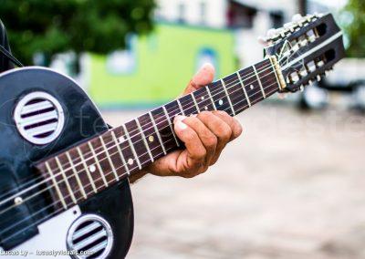 Brésil, Olinda - musicien