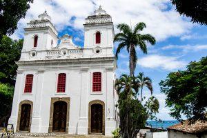 Salvador Bahia, brésil - église et nature