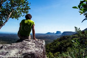 Chapada Diamantina - view of the table mountains