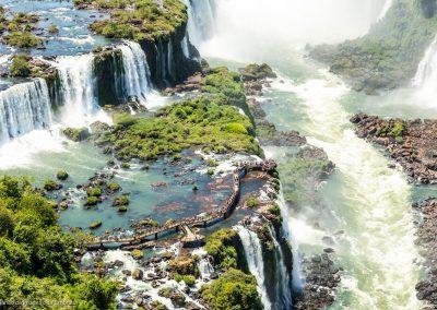 Visite des chutes d'Iguacu au Brésil,