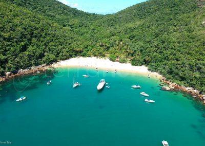 Ilha Grande, Brésil crique snorkeling