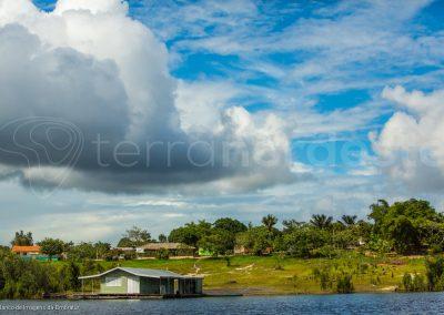 Brésil, Amazone - maison flottante