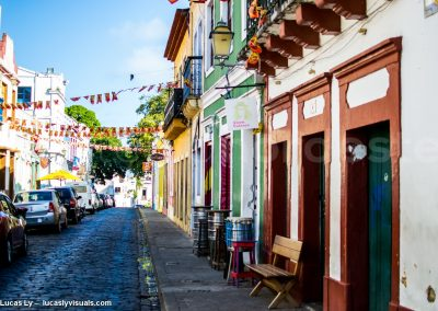 Brésil, Olinda - Rua colorida