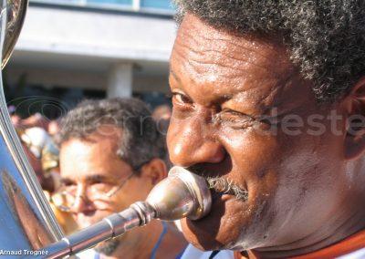 Rio de Janeiro - Carnaval de rue, musicien