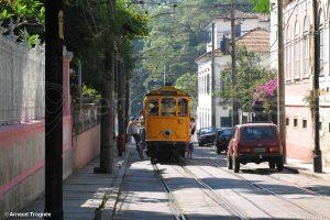 Bresil, Rio Janeiro - Santa Teresa - Tramway Bondinho