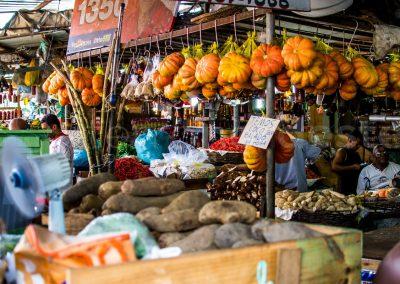 Salvador de Bahia - Brésil - Marché fruits légumes