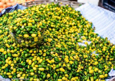 Salvador de Bahia - Piments couleur bresil